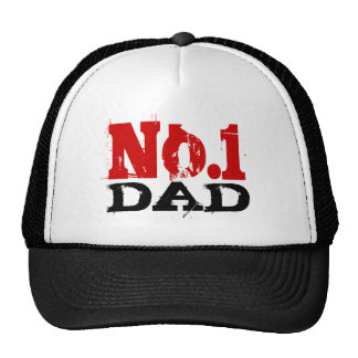 Number 1 Dad trucker hat   No. 1 Fathers Day gift