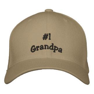 Number 1 Grandpa basball cap Baseball Cap