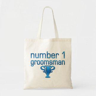 Number 1 Groomsman Bag