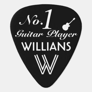 number 1 guitar player custom guitar pick