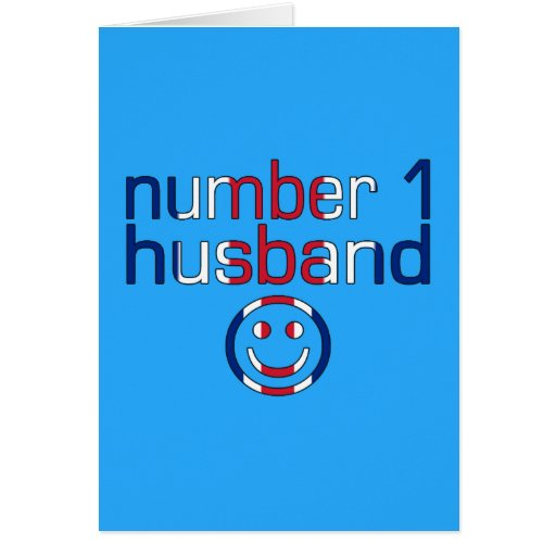 Number 1 Husband ( Husband's Birthday ) Cards