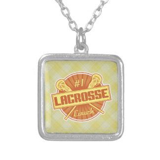 Number 1 Lacrosse Coach Pendant