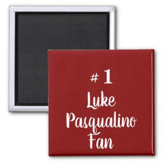 Number 1 Luke Pasqualino Fan Magnet