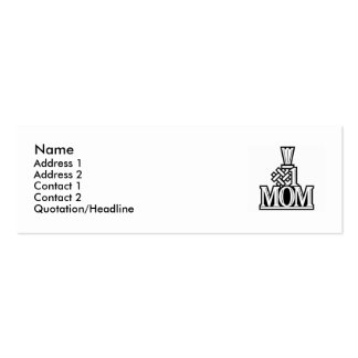 Number 1 Mom Business Card template
