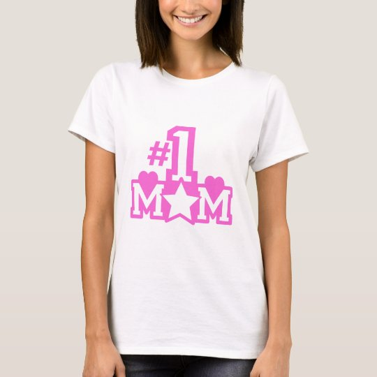 Number 1 Mom T-Shirt
