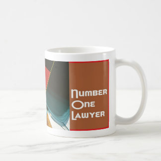 Number 1 One Lawyer Coffee Java Tea Mug