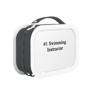 Number 1 Swimming Instructor Lunch Boxes