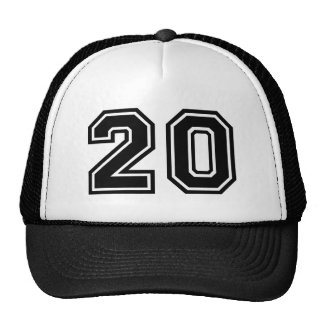 Number 20 Classic Trucker Hat