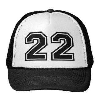 Number 22 Classic Trucker Hat