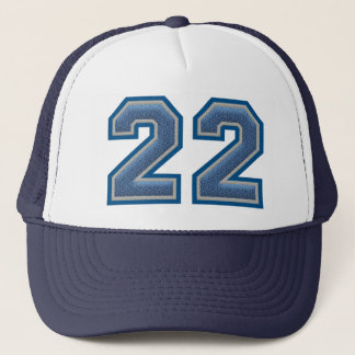 Number 22 Varsity Trucker Hat