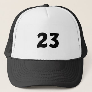 Number 23 trucker hat