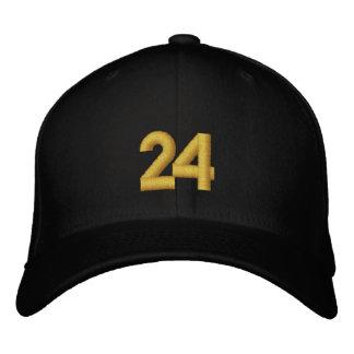 Number 24 baseball cap