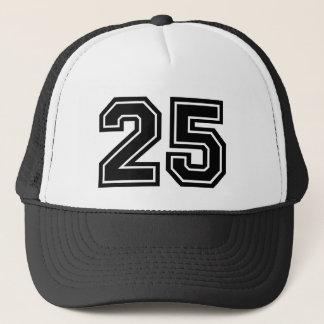 Number 25 Birthday Trucker Hat