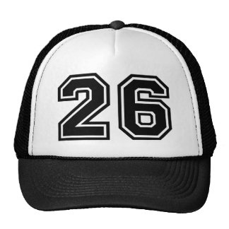 Number 26 Classic Trucker Hat
