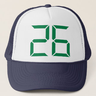 Number - 26 trucker hat