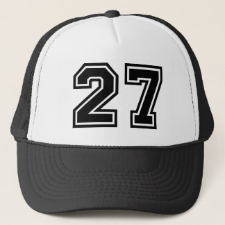 Number 27 Classic Trucker Hat