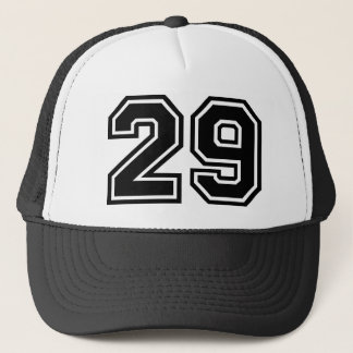 Number 29 Classic Trucker Hat
