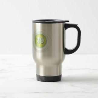 Number 29 travel mug