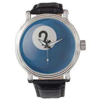 Number 2 Billiards Ball Wristwatch