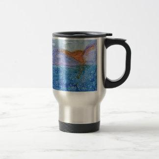 Number 2 Tile Art Travel Mug