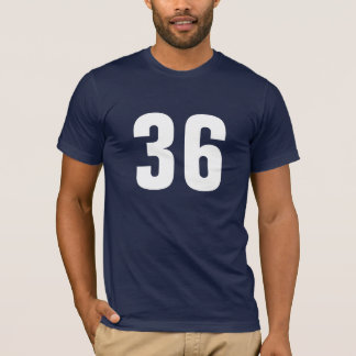 Number 36 T-Shirt