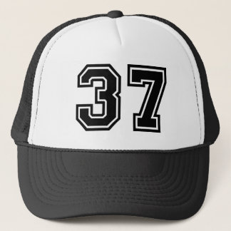 Number 37 Classic Trucker Hat