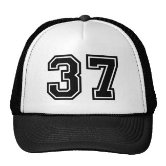 Number 37 Classic Trucker Hat