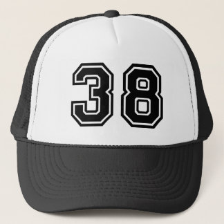 Number 38 Classic Trucker Hat