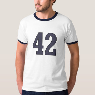 Number 42 T-Shirt