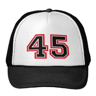 """Number """"45"""" trucker hat"""