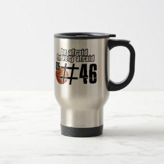 Number 46 Basketball designs Travel Mug