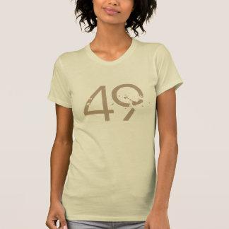 number 49 T-shirt design