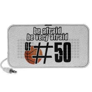 Number 50 Basketball designs Speaker