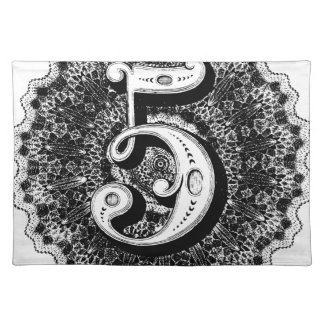 Number 5 placemat