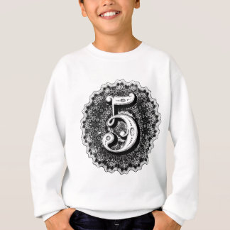 Number 5 sweatshirt