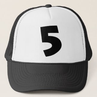"Number ""5"" trucker hat"