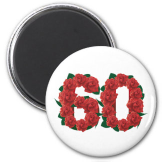 Number 60 2 inch round magnet