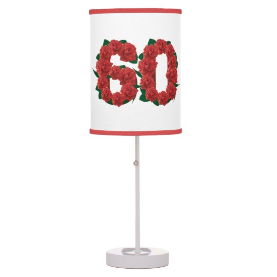 Number 60 Table Lamp