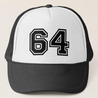 Number 64 Classic Trucker Hat
