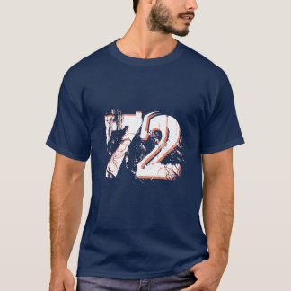 number-72 t-shirt design gift idea hipster