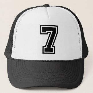 Number 7 Classic Trucker Hat