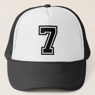 Number 7 Classic Trucker Hat