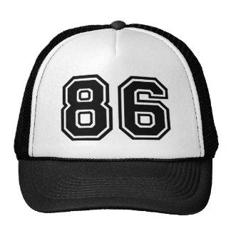 Number 86 Classic Trucker Hat