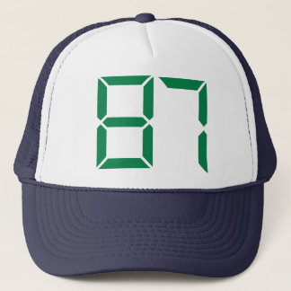 Number – 87 trucker hat