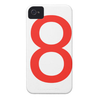 Number 8 iPhone 4 Case-Mate case