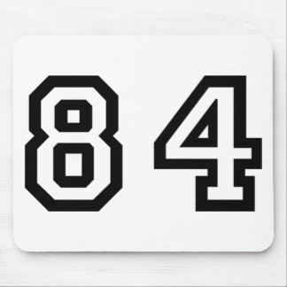Number Eighty Four Mouse Pad