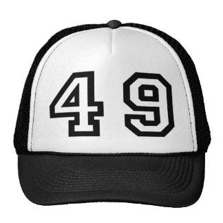 Number Forty Nine Trucker Hat