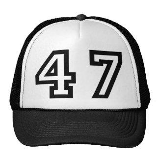 Number Forty Seven Trucker Hat
