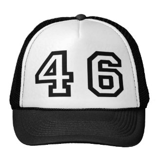 Number Forty Six Trucker Hat