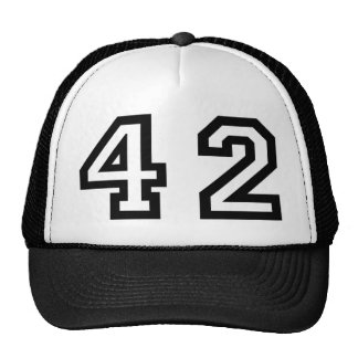 Number Forty Two Trucker Hat